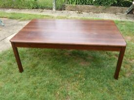 3 Ikea dark wood occasional tables