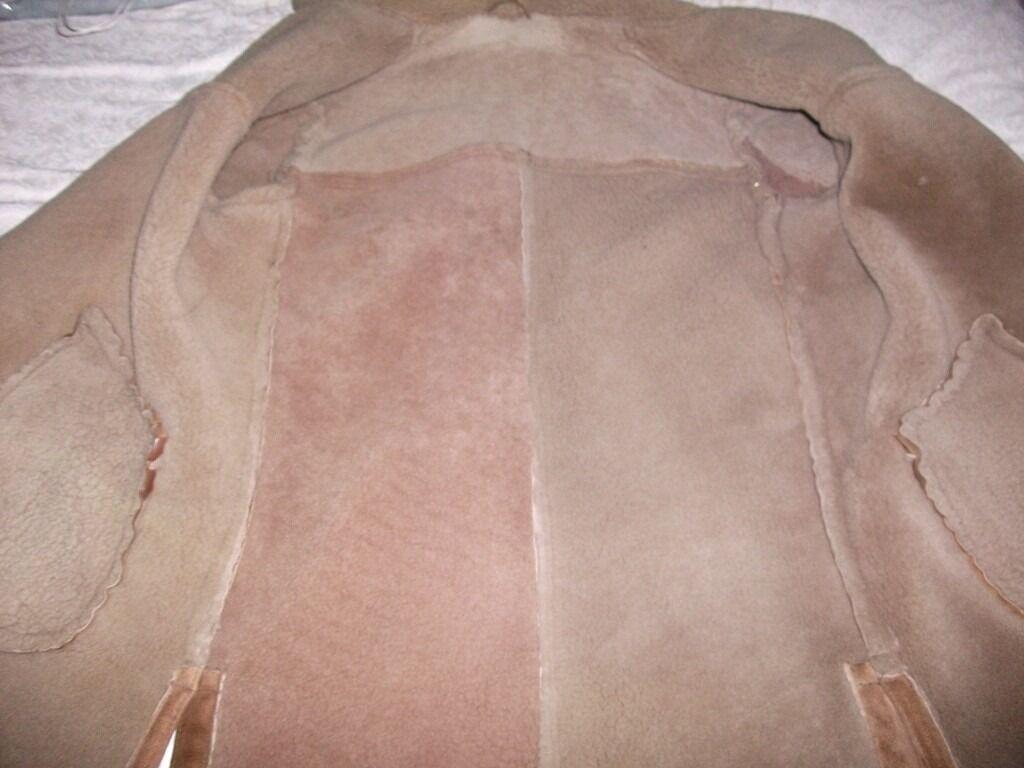 Used Sheepskin Coat  2 Leather Barney Original Harrington Jackets