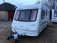 Elddis Riviera 524 4 berth with awning