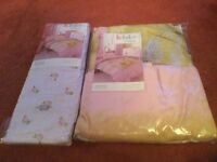Kids bedding and curtains