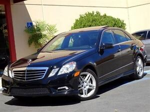 2011 Mercedes-Benz E-Class E350 4MATIC - AMG SPORTS PKG - PANORA
