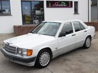 LOOK!!! VERY SCARCE 1990 MERCEDES 190E SPORTLINE COLLECTABLE CLASSIC