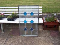 double glazed glass panel