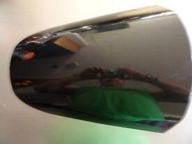 Black pillion seat cowl for Kawasaki ZX12R