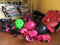Roller boots hats and accessories