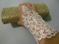 Lace women gloves