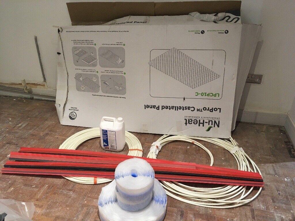 Nu heat Underfloor heating components