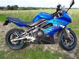 Kawasaki ER6F *649cc * 2010 * 22,200 miles * MoT Aug19 * Recent new Tyres & pads * Gd Condition :)