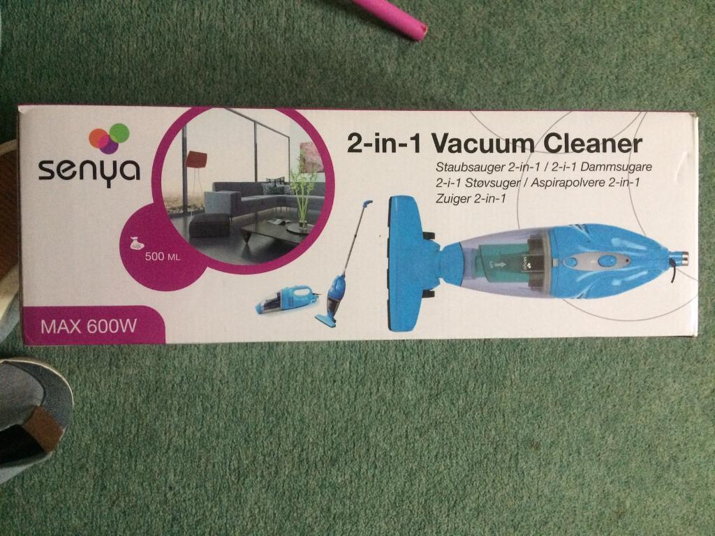 Senya 2 in 1 vacuum cleaner brand new