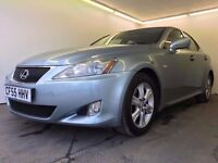 2006 | Lexus IS250 | Auto | 3 MONTHS WARRANTY | 2 FORMER KEEPERS | FULL SERVICE HISTORY |8 MNTH MOT