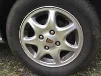 Rover Alloy Wheels with Goodyear 195/65/15 Tyres