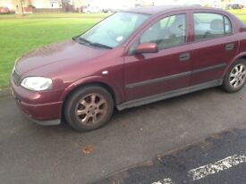 Vauxhall Astra for sale 450 ( ono)