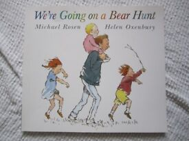 Brand new We're Going on a Bear Hunt Paperback. Follow and join in the family's excitement