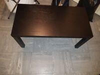 Black ash coffee table excellent condition