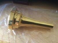 Euphonium mouth piece Denis Wick SM3.5M Gold-Plated Euphonium Mouthpiece, Steven Mead model