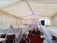 Marquee hire from one Funky Hippo