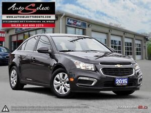 2015 Chevrolet Cruze ONLY 44K! **BACK-UP CAMERA** CLEAN CARPROOF