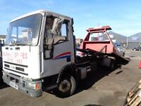 Ford Iveco Recovery Truck 7.5 tonne Tilt and Slide Spec Lift
