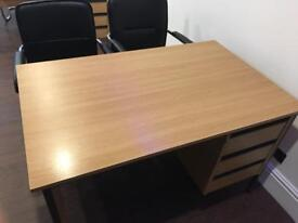 Free Desk with built in drawers
