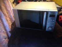 Sanyo EM-S1298V Microwave Silver 700W 17 litre