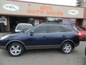 2010 Hyundai Veracruz Limited, LEATHER, 7 PASSENGER, AWD