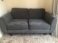 Grey sofa, 2 seater in fantastic condition. Collection only