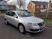 2007 VW PASSAT 1.9TDI,ESTATE,MANUAL,2 FORMER KEEPERS,2 KEYS,07522247473