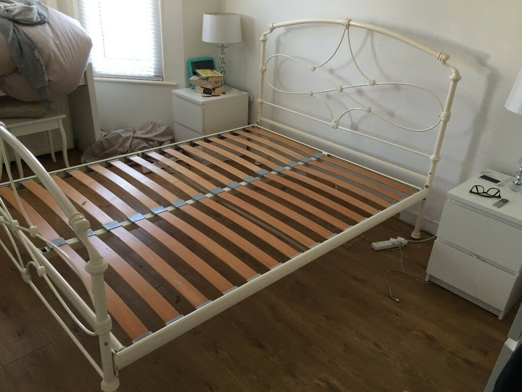 Kingsize Bed Frame Metal Heavy Duty Quality Build In Bournemouth