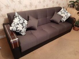 BRAND NEW MALTA 3+2+1 SEATER SOFA BED ORDER NOW