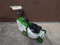"Etesia PHE 18"" Push Lawnmower Honda 5.5HP Petrol Engine with Grass Box - 2014"