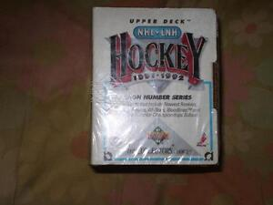 upper deck hockey1991-92 high number series (sceller & neuf)