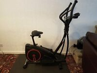 2 in 1 Elliptical Cross Trainer Exercise Bike
