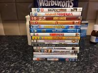 15 DVD s in good condition