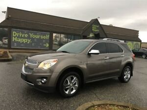 2012 Chevrolet Equinox LTZ / AWD/ LEATHER / SUNROOF / CHROME PKG