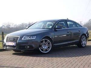 2010 Audi A6 3.0 S Line. Leather. Roof. Rear Cam