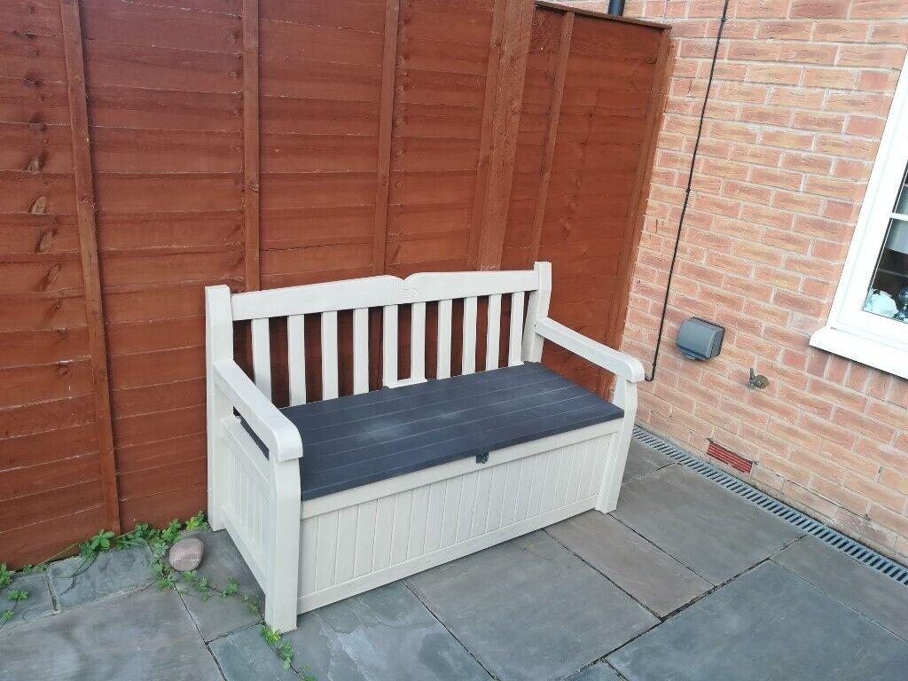 Pleasant Outdoor Bench With Storage In Newport Gumtree Andrewgaddart Wooden Chair Designs For Living Room Andrewgaddartcom