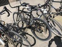 All black bike single speed