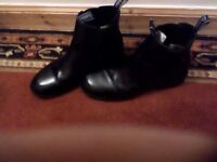 Jodphur Boots by Dublin, size 10, black leather £25.00
