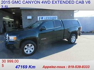 2015 GMC CANYON 4WD EXTENDED CAB SLE