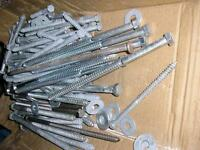 Galvanized Lag bolts