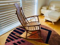 Beautiful Wood Rock Chair