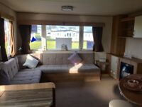 GREAT VALUE STATIC CARAVAN FOR SALE ON NORTHUMBERLAND PARK WITH AMAZING SEA VIEWS. 12 MONTH SEASON.