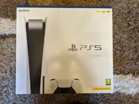 Sony PS5 PlayStation 5 Disc. Brand new & sealed. Manchester