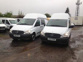 Mercedes-Benz VITO 113 CDI DUALINER lwb HR ex police 5 seater your new day camper van Diesel