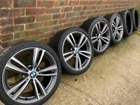 "Genuine BMW 4 Series 19"" 442 M sport Alloy Wheels & Tyres"