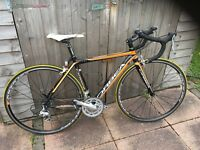 Orbea Aqua road bike very good condition 48cm full strip down service with new cassette and chain.