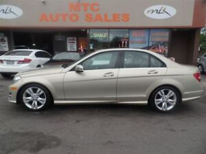 2012 Mercedes-Benz C-Class C300 4MATIC, LEATHER, SUNROOF