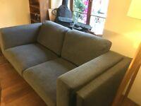 Ikea Nockeby sofa in good condition, super-comfy