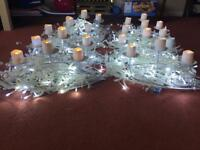 Wedding table centre pieces x8