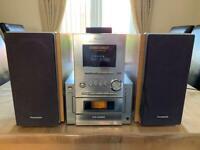 Panasonic Hifi CD Stereo System SA-PM117